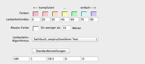 Papyrus Autor 7: Die Textverarbeitung misst, wie  gut ein Text lesbar ist. (Screenshot: t3n / Papyrus Autor)
