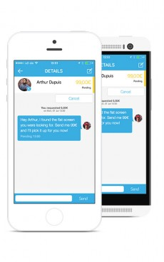 Payfriendz ist eine neue App, die den kostenlosen und einfachen Geldtransfer im Freundeskreis ermöglicht. (Bild: Payfriendz)