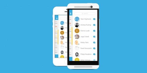 Mit dem Handy unter Freunden bezahlen: Das geht nur, wenn die Freunde auch präsent sind im jeweiligen Dienst. (Screenshot: Payfriendz)