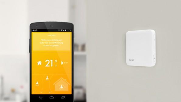 Tado aus München bietet intelligente Thermostate. (Foto: Tado)