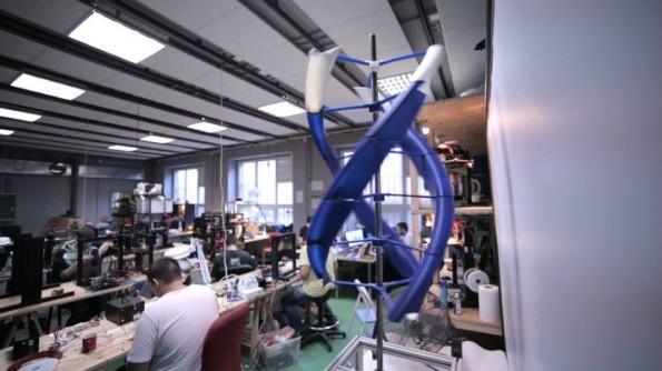 Ein Prototyp der AirEnergy 3D (Bild: Omni3D via Kickstarter)