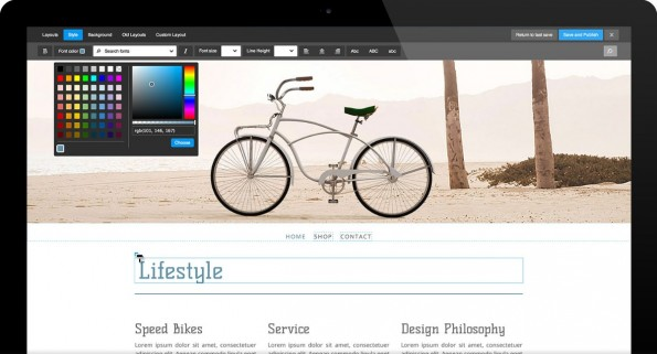 Jimdo Facelift: Die neue Jimdo-Version bringt viele schicke neue Templates und einen überarbeiteten Editor mit. (Quelle: Jimdo)