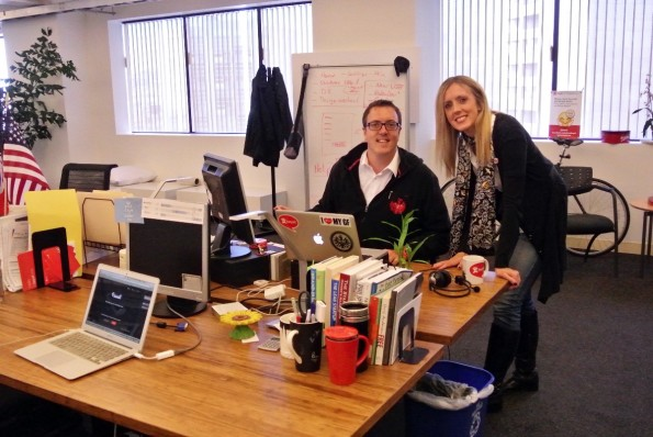 """Roman und Bianca Weishäupl über die Vorteile einer Startup-Gründung in San Francisco: """"Wer rüberkommen will und Hilfe braucht, dem wird auch geholfen."""". (Foto: Andreas Weck)"""