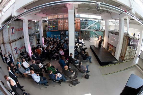 Auf der bizplay 2014 wird über Gamification im Unternehmen diskutiert. (Foto: Sandra Jacques)