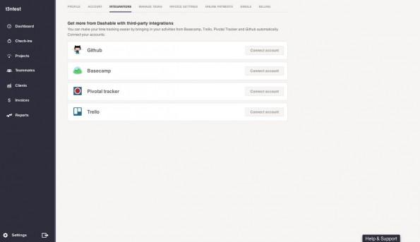 Dashable erleichtert Time-Tracking von Teams und die Rechnungsstellung. (Screenshot: Dashable)