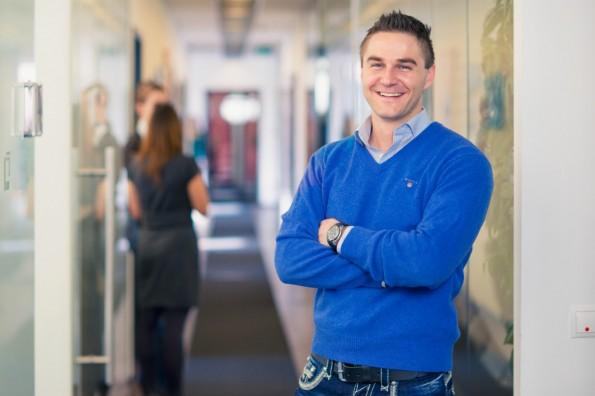 Der 27-jährige Sebastian Diemer ist Gründer und CEO von Kreditech. (Foto: Kreditech)