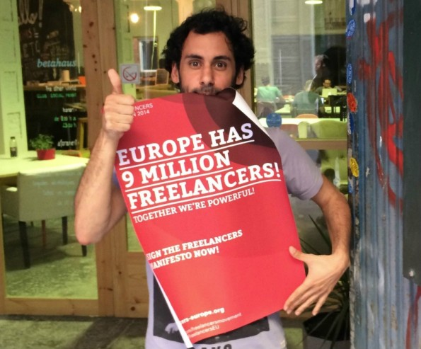 Schätzungen gehen davon aus, dass europaweit rund neun Millionen Freiberufler tätig sind. Das Freelancers Movement will alles Selbstständige vereinen und ihnen eine Stimme geben. (Bild: Freelancers Movement)