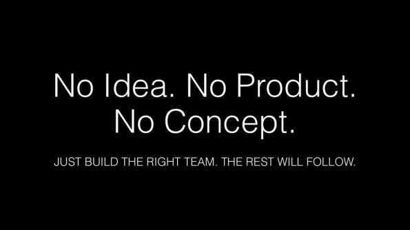 Gründer Itay Adam: Unterhaltung ist wichtiger als ein Konzept. (Screenshot: Slideshare)