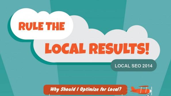 Infografik: Die wichtigsten Tipps zum Thema Local SEO. (Grafik: OptiLocal)