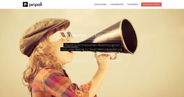 Pinpoli hat sich auf kleinere Umfragen spezialisiert. (Screenshot: Pinpoli)