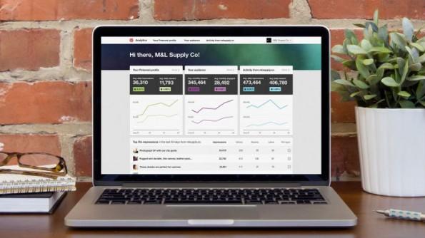 Wie viele Nutzer erreicht ein Pin? Das visualisiert Pinterest jetzt auf einem Dashboard für seine Unternehmensprofile. (Bild: Pinterest)
