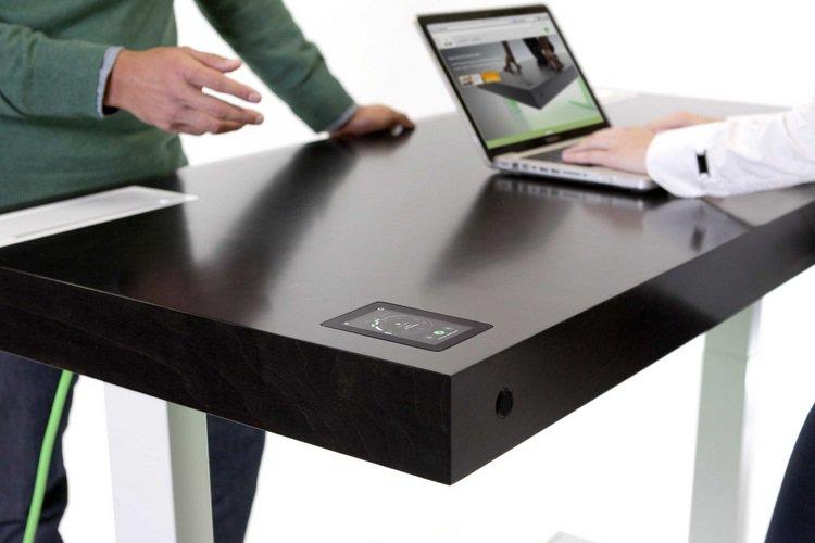 schreibtisch homeoffice stir kinetic desk 1 t3n. Black Bedroom Furniture Sets. Home Design Ideas