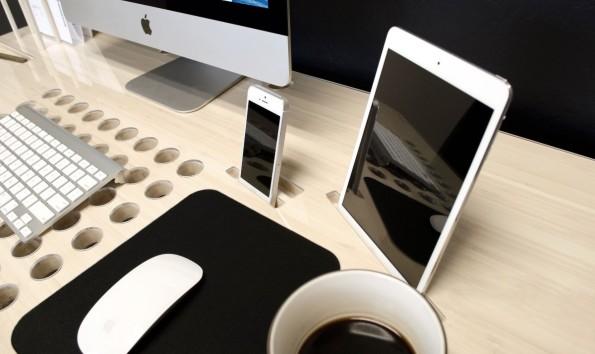 Schreibtisch design apple  Nicht von der Stange: Diese 10 Schreibtische verschönern dein ...