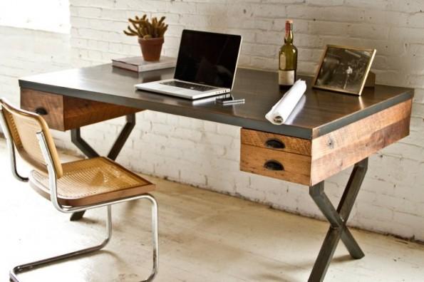 Schreibtisch industriedesign  Nicht von der Stange: Diese 10 Schreibtische verschönern dein ...