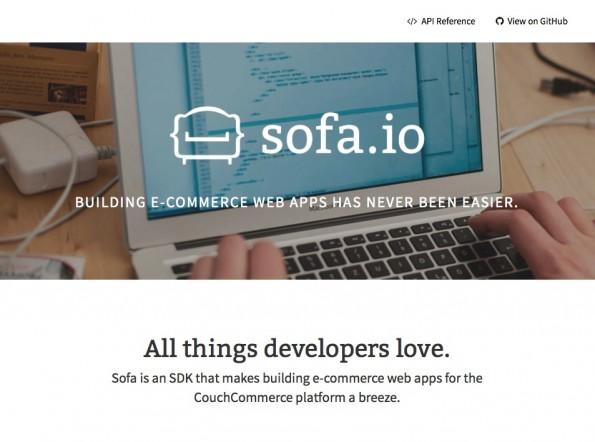 Sofa.io: Die CouchCommerce-Technologie für E-Commerce-Web-Apps ist jetzt als Open-Source-SDK erschienen. (Bild: CouchCommerce)