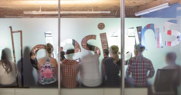 """99designs-Büro in San Francisco: """"Kommunikation ist immer die größte Herausforderung"""". (Bild: Andreas Weck)"""