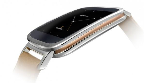 Die ZenWatch sieht vor allem aufgrund der Materialien wie Stahl und Leder sehr interessant aus. (Quelle: Asus)