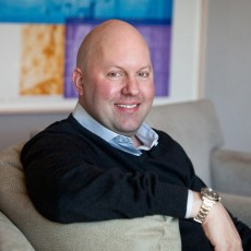 "Marc Andreessen: ""Many high burn rate co's will vaporize."" (Foto: Andreessen Horowitz)"