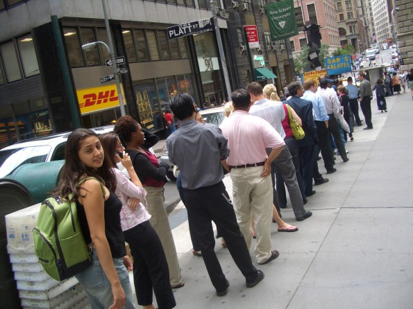 Werden die Leute Schlange stehen, um dein Produkt zu kaufen? Oder brauchen sie es gar nicht? (Foto: Foto: David, Bergin, Emmett and Elliott, via flickr, Lizenz CC BY 2.0)