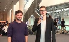 Lars Budde im Gespräch mit Ben Williams. (Foto: t3n)
