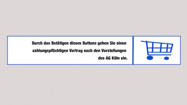 Wie ein perfekter Kauf-Button nach den Vorstellungen des AG Köln aussieht ist leider trotz dieses Vorschlags unklar. (Grafik: t3n)