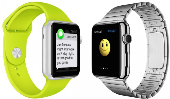 Marketingprofis sind bereits auf den Start der Apple Watch vorbereitet. (Foto: Apple)