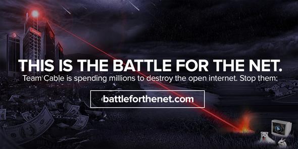 """Eine Übersicht aller Banner und Embleme finden sich auf der """"Battle for the Net""""-Projektseite. (Grafik: Battle for the Net)"""
