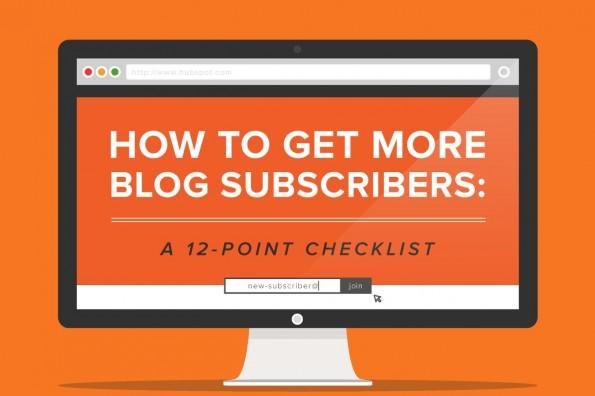 12 Listbuilding-Tipps für Blogger. (Infografik: HubSpot / Backlinko)