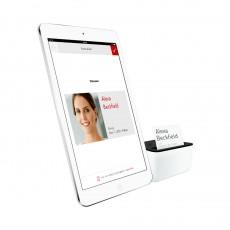 Envoy bietet eine Alternative zum klassischen Besucherbuch: App und iPad. (Quelle: Envoy)