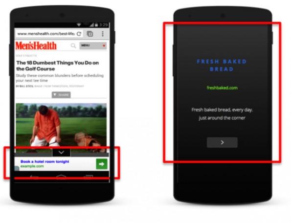 Google stellt Textanzeigen im Magazinstil vor. (Grafik: Google)