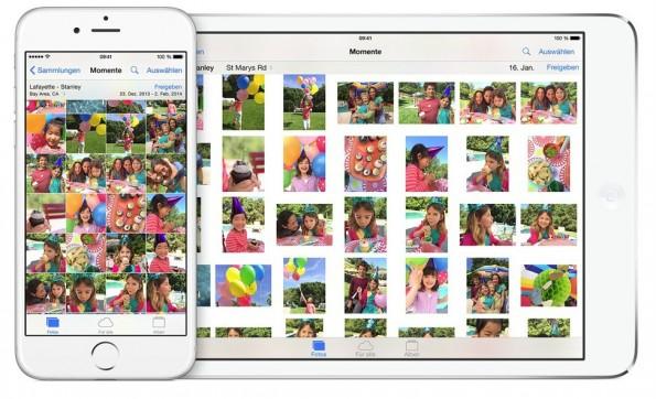 iOS 8 bringt unter anderem viele Neuerungen bei Fotos und der Kamera. (Bild: Apple)