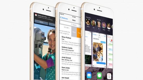 iOS 8 brachte viele Neuerungen, aber auch Fehler – die soll iOS 9 jetzt ausbügeln. (Grafik: Apple)