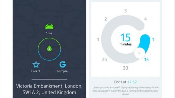 Mit der Integration von Glympse sind auch Verkehrsinfos auf den Nokia-Karten abrufbar. (Bild: Nokia)