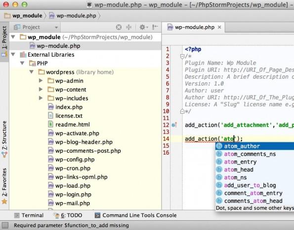 PHPStorm 8: JetBrains hat die neue Version ihrer Entwicklungsumgebung veröffentlicht. (Screenshot: PHPStorm 8)