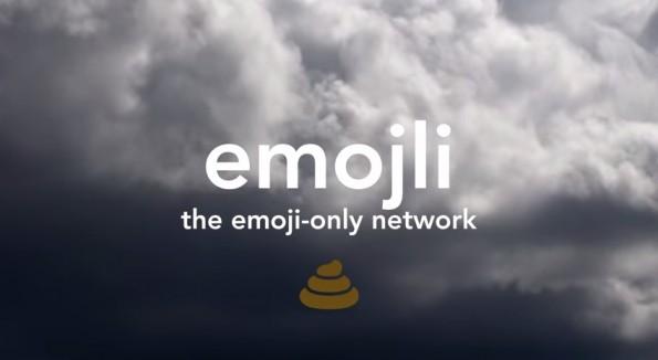 Emoji.li ist ein Messenger, dessen Alleinstellungsmerkmal es ist, nur Emoticons verschicken zu können. (Grafik: Emoji.li)