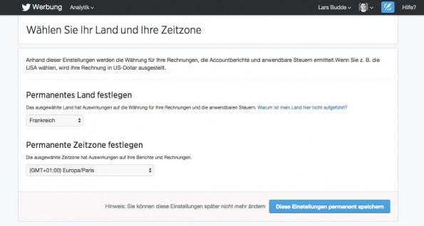 Hier müssen deutsche Nutzer schummeln. (Screenshot: twitter.com)