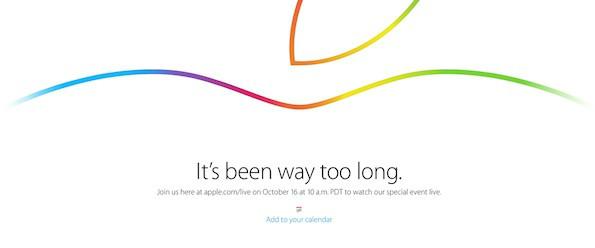Apple Keynote 2014 im Live-Stream (Screenshot Apple)