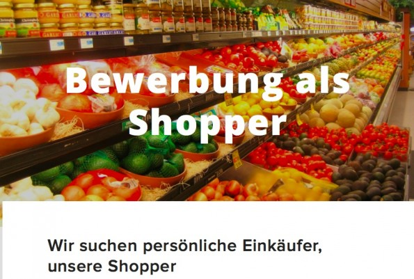 Liefern wird Shopwings mit Boten, den sogenannten Shoppern. Shopwings hält Kontakt zum Shopper via Smartphone und vermittelt so die Aufträge. Bis zu 20 Euro sollen Shopper so verdienen können. (Screenshot: Shopwings)
