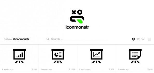 Iconmonstr ist ein Projekt des Münsteraner Entwicklers Alexander Kahlkopf. (Screenshot: Iconmonstr)