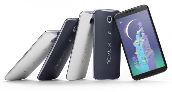 Das Motorola Nexus 6 ist optisch ein aufgeblasenes Moto X. (Quelle: Google)