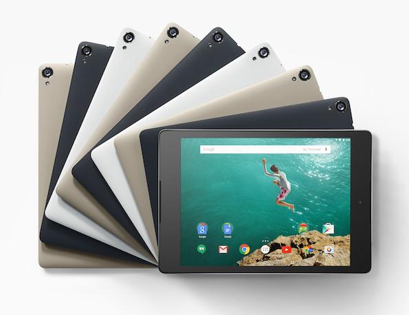 Ist das HTC Nexus 9 ein iPad-Air-Killer? (Foto: Google)