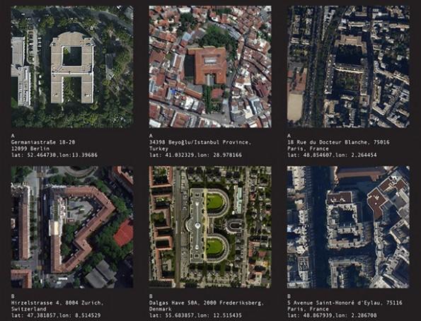 Aerial Bold: Dieses Projekt will eine Schriftart auf Basis von Satellitenbildern erstellen. (Grafik: Benedikt Groß & Joey Lee / Kickstarter)