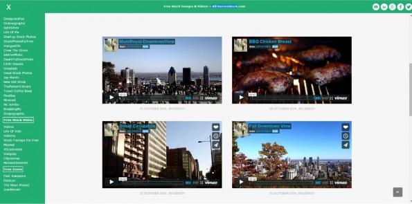 Neben Stockfotos listet Allthefreestock auch Videos, hier von lifeofvids.com (Screenshot: allthefreestock.com).