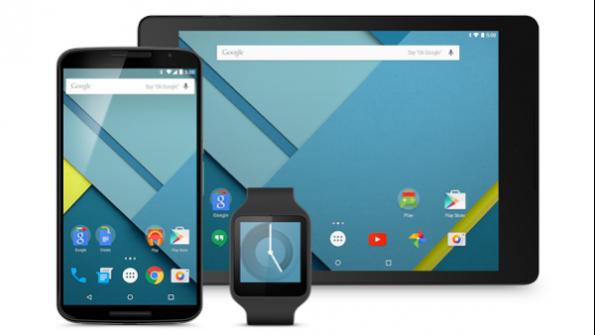 Das Nexus 6 und das Nexus 9 sind die ersten Geräte, die mit Android Lollipop auf den Markt kommen. (Bild: Google)