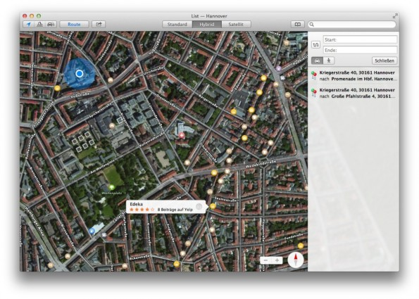 "Apple will mit ""Maps Connect"" das eigene Kartenmaterial aufwerten. (Screenshot: apple.com)"