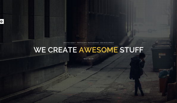 Brooklyn: Parallax WordPress Theme.