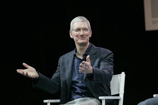 Apple-Chef Tim Cook bei der Technologiekonferenz WSJD Live. (Foto: Gary Fong)
