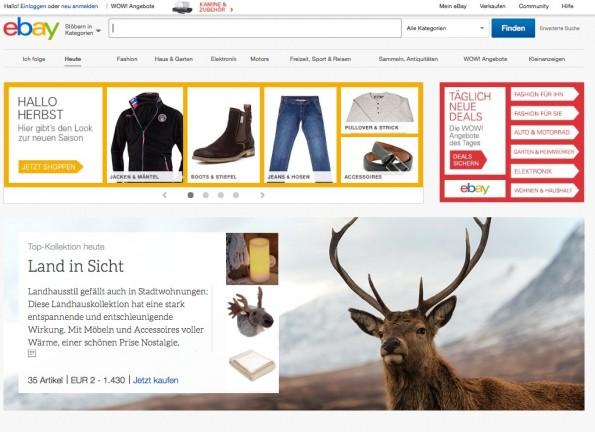 """Mit """"eBay+"""" plant eBay ein umfassendes Treueprogramm nach dem Amazon-Vorbild. (Screenshot: eBay)"""