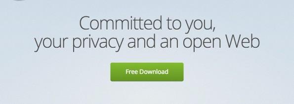 Ihr könnt eure CTA-Buttons nicht einfach beliebige vergrößern. (Screenshot: Mozilla)