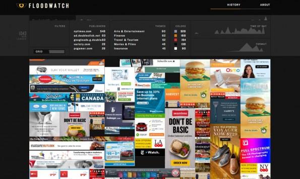 Floodwatch: Die Chrome-Erweiterung zeigt euch, welche Werbung ihr angezeigt bekommt. (Screenshot: Floodwatch)